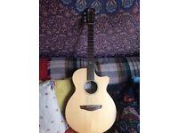 Faith Venus (Naked Series) Electro Acoustic Guitar & Hard case