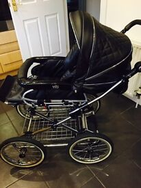 VIP crystal embezzled pram / buggy