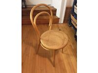 3 Thonet style bentwood chairs