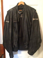 His and Her's Joe Rocket Motorcycle jackets