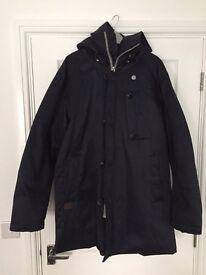 G star parka coat jackets men's hooded large
