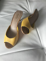 BRAND YELLOW SHOES! SIZE 81/2! NEW with box!