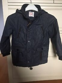 Next boys coat and body warmer age 4