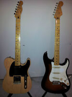 50's Classic Vibe Tele and Strat