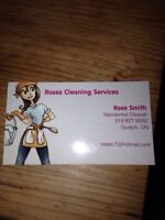 Are you looking for a residential/commercial cleaner?