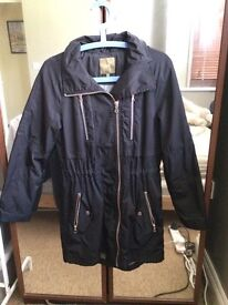 Next ladies rain jacket/ trench coat size 8