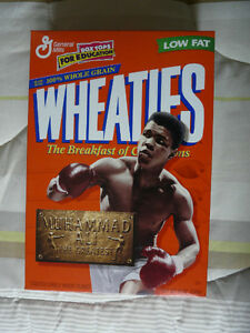 Wheaties collectible cereals: McGwire, Ali, Clemens West Island Greater Montréal image 5