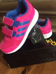 Girls size 12 Adidas runner brand new with tags and box