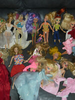 Mattel Barbie Doll Collection Many Dolls+,and  Ken & Much More