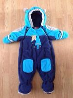9 month Gagou Tagou snowsuit