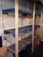 Garage shelving / storage
