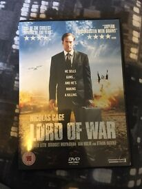 Lord of war DVD