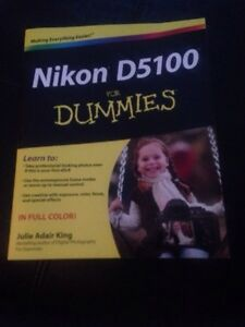Nikon D5100 for Dummies brand new book
