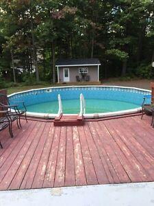 Piscine hors terre 24 pied acheter et vendre dans qu bec for Prix piscine hors terre 24 pieds