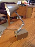 Vintage GE Scissor Task Lamp With a High/Low Switch. Working