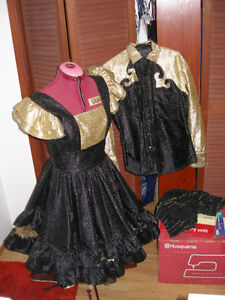 Matching his and her square dancing outfits Prince George British Columbia image 2
