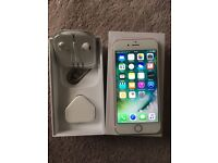 iPhone 6s 16GB, unlocked, rose gold colour. Excellent condition.
