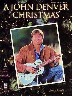 A John Denver Christmas Sheet Music Piano Vocal Guitar Songbook NEW 002500002