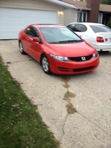 2009 Honda Civic Sport Coupe (2 door)