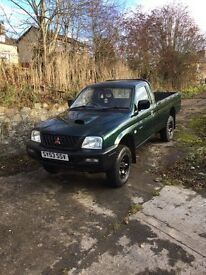 MITSUBISHI L200 4work single cab