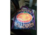 Happy Halloween / Trick or Treat Tote Bags x 2