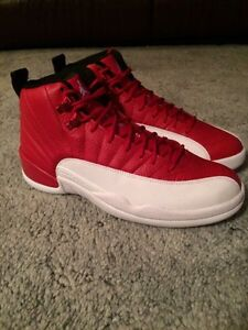 Gym red Jordan 12 size 9.5