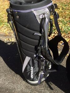 New golf bags.