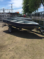 """"""" BLOW OUT PRICING """" 2015 MIRROCRAFT UTILITY V #4602"""