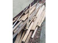 Hardwood off cuts