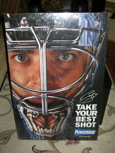 Curtis Joseph Large Powerade advertising piece!