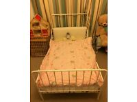 Ikea child's extendable toddler bed