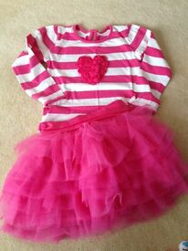 Girls skirt and top set age 4-5 years