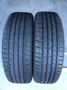 Two 225/65/R17 AllSeason Continental CrossContact NearlyNew*