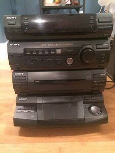 Sony CD Player & Speakers