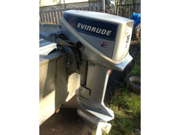 Evinrude 15 Hp Outboard Motor For Sale Canada
