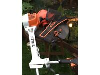 Petrol strimmer and accessories