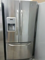 *FRIGO 2014 COMME NEUF STAINLESS LIVRAISON POSSIBLE***