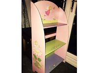 Girls bedroom bookcase