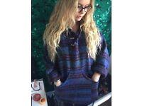 Women's hippy boho jumper
