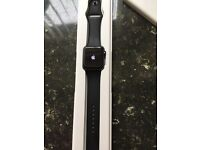 Space grey Apple Watch 42MM mint condition