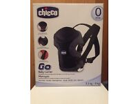 Chicco Go Baby Carrier brand new black