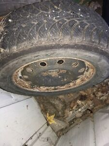 * REDUCED* 4 Goodyear Ultragrip winter tires and rims Kawartha Lakes Peterborough Area image 3