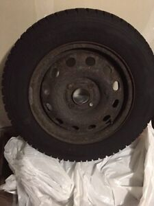 Used Winter Tires on Rims  Cambridge Kitchener Area image 1