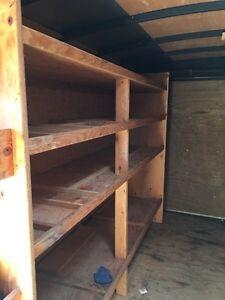 16 foot enclosed trailer with shelves Edmonton Edmonton Area image 6