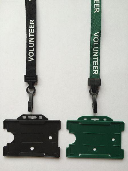 Pre-Printed Safety Lanyard VOLUNTEER -TOP SELLER STAFFSTUDENT