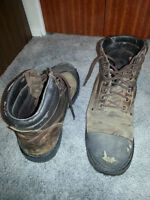 Size 14 Mark's Brand Steel Toed Boots