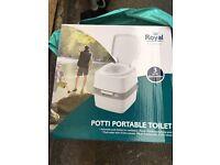 Brand New Royal Potti Portable Toilet Camping