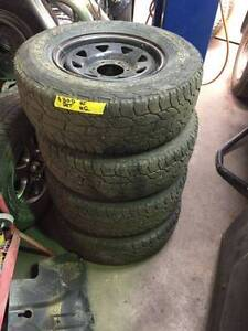 """6 Stud wheels 16"""" Sunrays Wheels and Tyres 245/70/R16 Nerang Gold Coast West Preview"""
