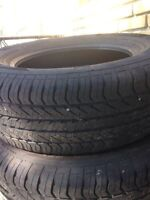 Selling summer tires for 80$