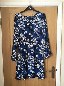 Oasis floral dress - size 10